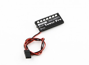 Monitor de tensão do receptor LED