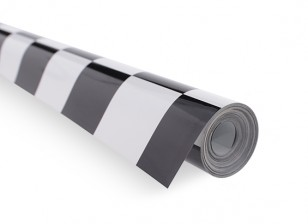 Cobertura Film Grill-Work Black / White (5mtr) 402