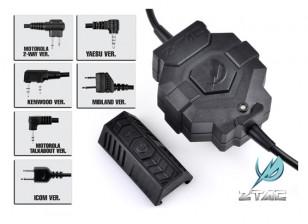 estilo Z Tactical Z123 Ztac sem fio PTT (ICOM)