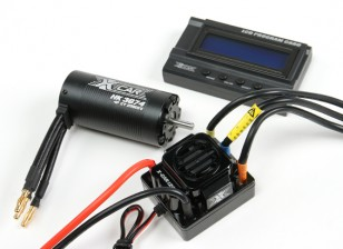 HobbyKing® ™ X-Car Besta Series Motor e 120A ESC Combo 1/8 Scale