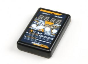 Cartão de programa Display LED HobbyKing® ™ X-Car Besta Series Digtal
