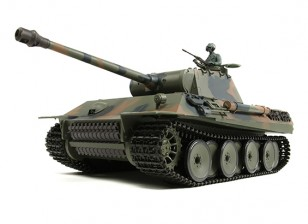 PzKw alemão V (Panther) RC Tanque RTR w / Airsoft & Tx (plug UE)