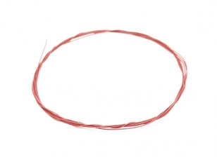 Turnigy alta qualidade 36AWG Teflon fio revestido de 1m (vermelho)