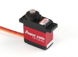 Poder HD 1810MG Metal Gear Coreless Digital Servo 3,9 kg / 16g / .13sec