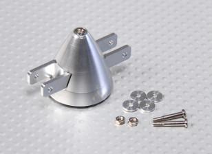 eixo 30 milímetros / 3,2 milímetros de liga Folding Spinner