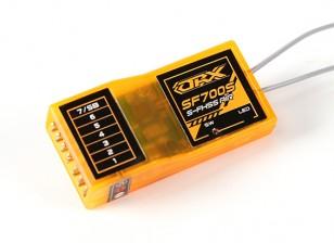 Receptor OrangeRx SF700S Futaba FHSS Compatível 7CH 2.4Ghz com FS e SBus