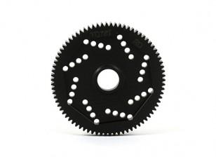 Engrenagem Spur revolução Projeto 48DPX 78T R2 precisão para Hex Tipo Slipper Pad