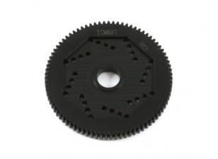 Engrenagem Spur revolução Projeto 48DPX 83T R2 precisão para Hex Tipo Slipper Pad
