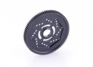 Engrenagem Spur revolução Projeto 48DPX 87T R2 precisão para Hex Tipo Slipper