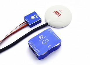 Jiyi P2 Multirotor Autopilot Sistema de Controle de Voo (V2)