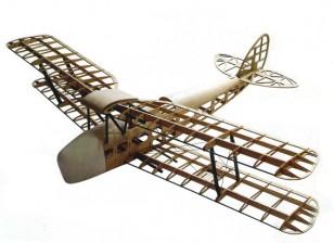 De Havilland DH82a Tiger Moth Biplane 1400 milímetros Laser Cut Balsa (Kit)