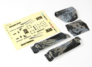 Painéis Desert Fox impresso no corpo do conjunto completo (1 jogo)