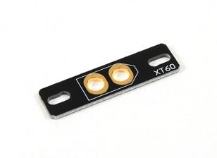 Multirotor XT60 conector fixo de montagem Board (1pc)
