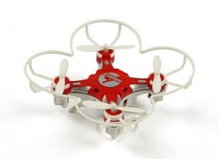 FQ777-124 bolso Drone 4CH 6Axis Gyro Quadrotor Com Switchable Controller (RTF) (vermelho)