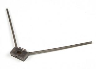 Turnigy 2.4G Antenna Mount de Racing Drones (Grey)