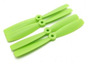 Nariz Diatone Touro Plástico Hélices 6 x 4,5 (CW / CCW) (verde) (2 pares)