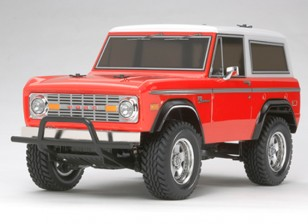 Tamiya 1/10 Escala Ford Bronco 1973 / CC01 Series Kit 58469
