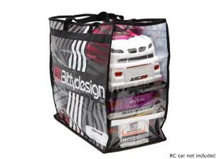 Bittydesign Carry Bag para 1/10 corpos de Turismo (190 - 200 mm)