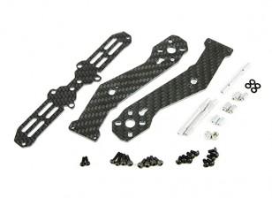 Tarot de metade do carbono braço dianteiro 2,5 milímetros para TL280H Metade de fibra de carbono Multi-rotores