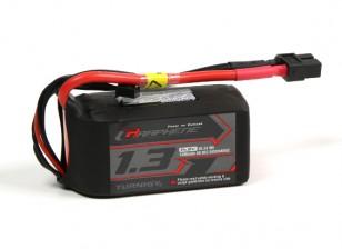 Turnigy Grafeno 1300mAh 4S 65C Lipo pacote w / XT60