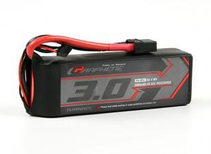 Turnigy Grafeno 3000mAh 4S 65C Lipo pacote w / XT90
