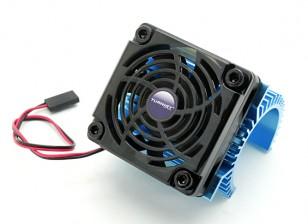 Turnigy dissipador de calor com ventilador por 36 motores de série.