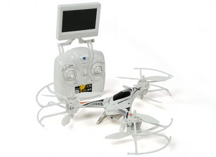 CX-33 Tricopter w / 5.8Ghz Tx, Monitor, HD Camera, modo de 2.4Ghz 1 / Modo 2 Switchable Tx (RTF)