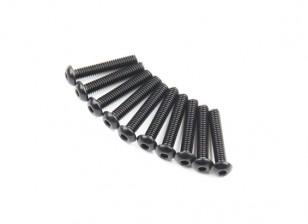 Redonda do metal Machine Head Hex Screw M2.6x14-10pcs / set