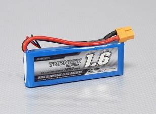 Turnigy 1600mAh 2S 30C Lipo pacote