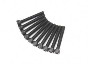 Metal soquete Machine Head Hex Screw M5x36-10pcs / set