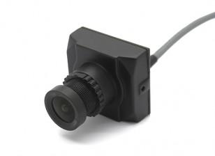 Aomway 1200TVL 960P CCD HD Mini Camera w Lens / 2,8 milímetros para FPV (22g)