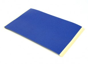 Turnigy azul 3D Printer Bed fita Folhas 235 x 155mm (20pcs)
