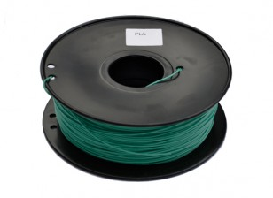 HobbyKing 3D 1,75 milímetros Filament Printer PLA 1KG Spool (mudança de cor - verde ao amarelo)