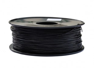 HobbyKing 3D policarbonato Filament Printer 1,75 milímetros ou PC 1,0 kg Spool (Black)