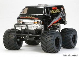 "Tamiya 1/12 Escala da cesta de comida ""Black Edition"" Monster Truck Kit 58546"