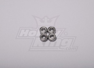 HK-500 Gt Ball Bearing 9 x 4 x 4 milímetros (Alinhar parte # H60103)