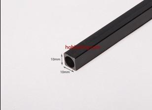 750x10mm tubo de fibra de carbono Praça