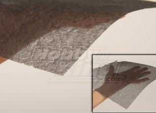 Fibra de Carbono Tissue (Belas 10g / m2) 1mtr
