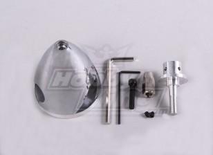 51 milímetros Spinner de alumínio / 2.0in - 3 Blade