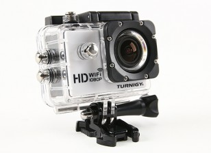 Turnigy HD WiFi ActionCam 1080p Full HD Video Camera w Case / Waterproof