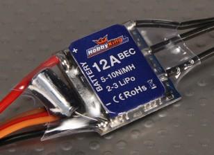 HobbyKing 12A BlueSeries Brushless Controlador de velocidade