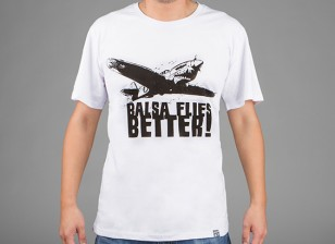 HobbyKing Vestuário Balsa Moscas Better Cotton Shirt (XL)