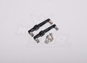 HK-500 Gt metal Flybar Controle Arm Set (Alinhar parte # H50013-1)