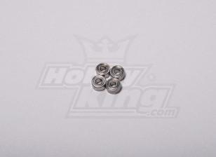 HK-250GT Ball Bearing 5 x 2,5 x 2 milímetros (4pcs / set)