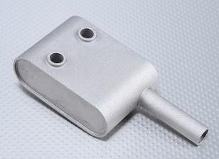 Silenciador substituto para Turnigy motor a gasolina 30cc