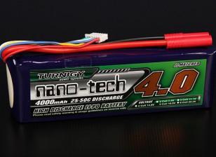 Turnigy nano-tecnologia 4000mAh 5S 25 ~ 50C Lipo pacote