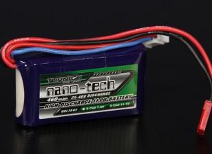 Turnigy nano-tecnologia 460mAh 3S 25 ~ 40C Lipo pacote