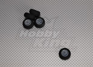 Luz espuma roda Diam: 25, Largura: 12mm (5pcs / bag)