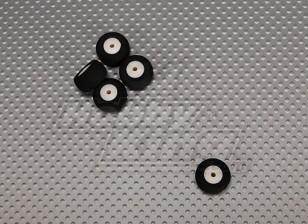 Pequena roda Diam: 18 milímetros Largura: 10mm (5pcs / bag)