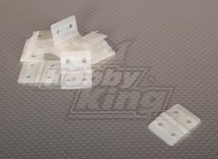Nylon & Fixado dobradiça 26.5x36 (10pcs / saco)